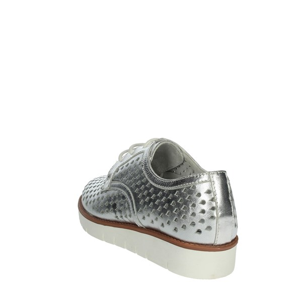 Riposella Shoes Brogue Silver C247