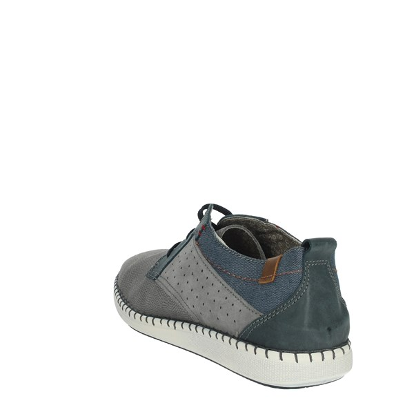Uomodue Shoes Comfort Shoes  Grey C272