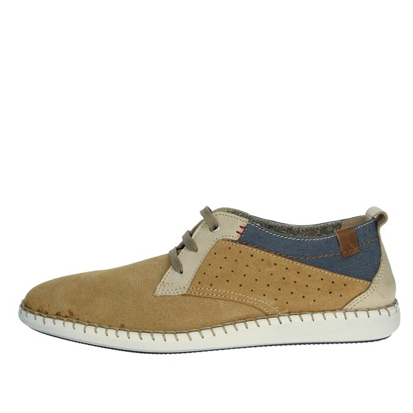 Uomodue Shoes Comfort Shoes  Mustard C273