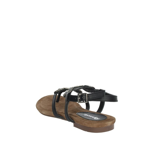 Riposella Shoes Sandals Black C321