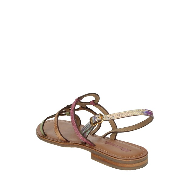 Riposella Shoes Sandals Brown leather C349