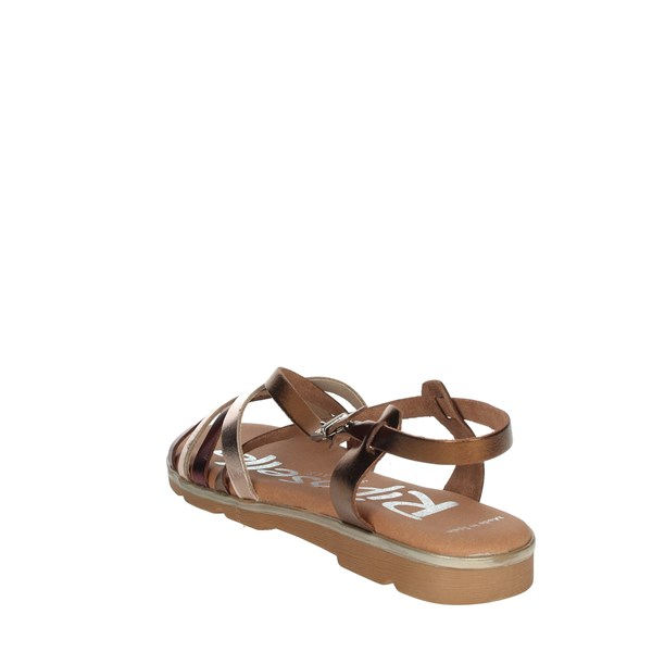 Riposella Shoes Sandals Bronze  C343