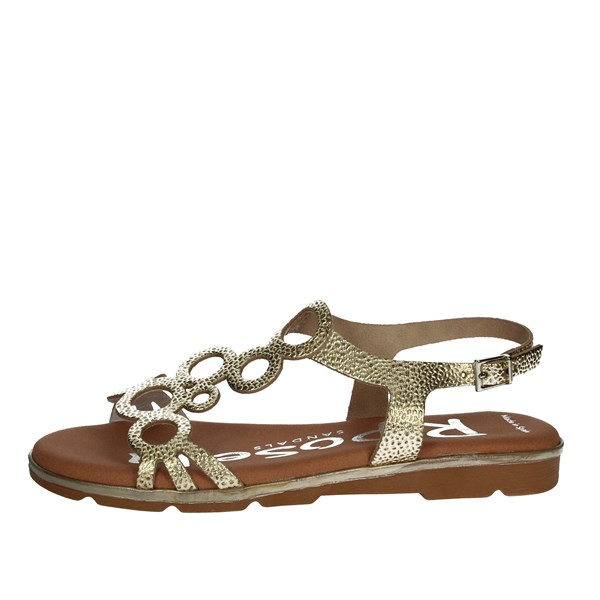 Riposella Shoes Sandals Platinum  C346