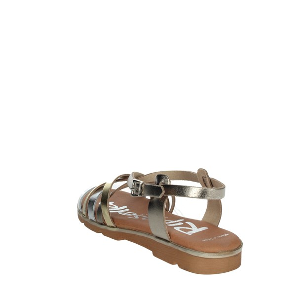 Riposella Shoes Sandals Platinum  C344