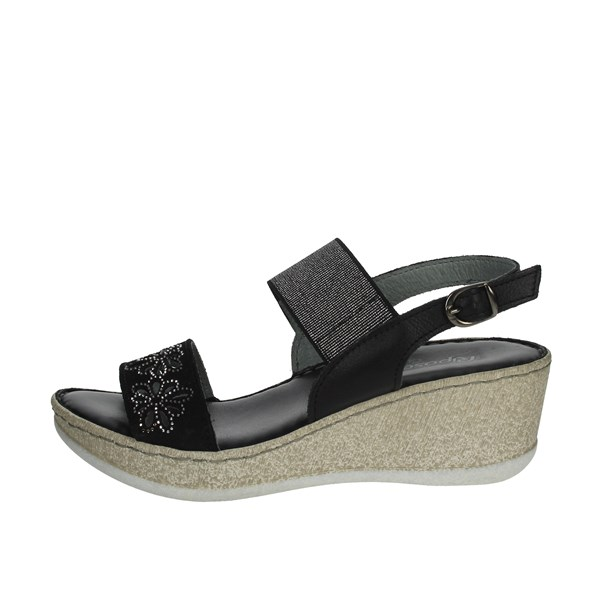 Riposella Shoes Sandals Black C513