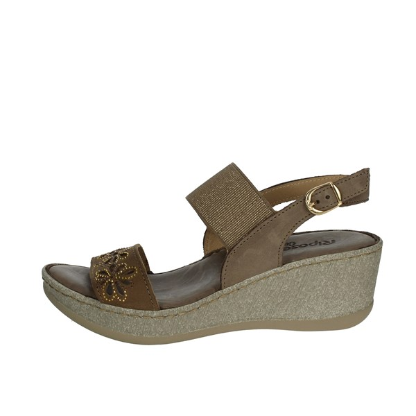 Riposella Shoes Sandals Brown Mud C515