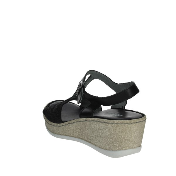Riposella Shoes Sandals Black C531