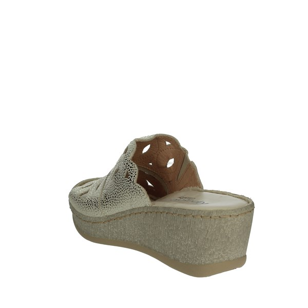 Riposella Shoes Clogs Platinum  C525
