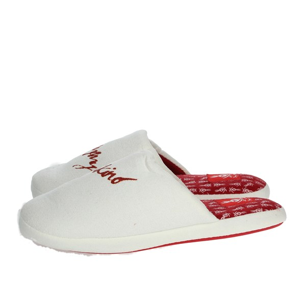 Tommy Mikino Shoes Clogs White/Red 87319