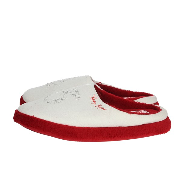 Tommy Mikino Shoes Clogs White/Red 87321