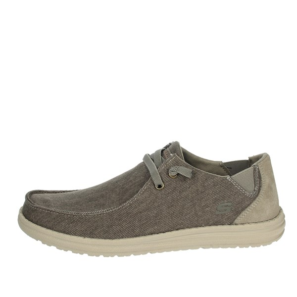 Skechers Shoes Sneakers Brown Taupe 66387