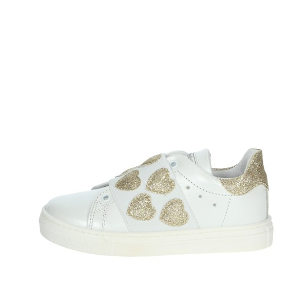Balducci Shoes Sneakers White/Gold BUTTER1572