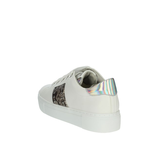 Keys Shoes Sneakers White K-601