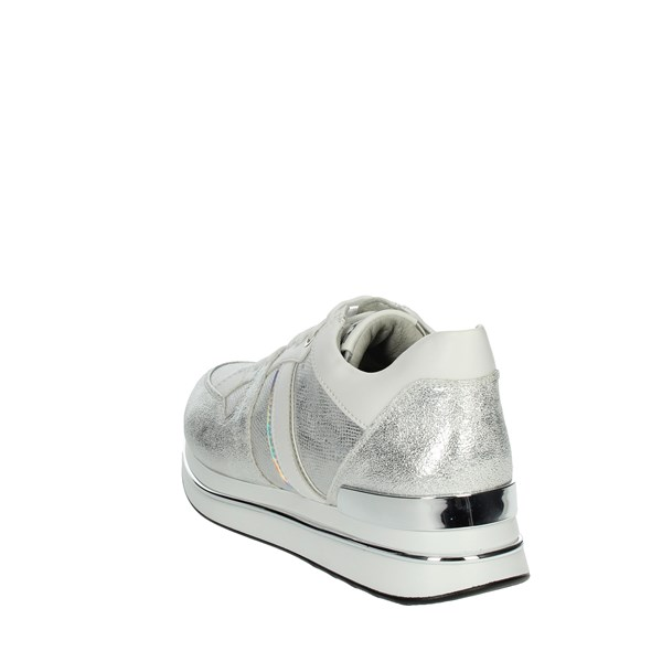 Keys Shoes Sneakers Silver K-501