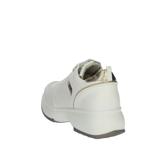 Keys Shoes Sneakers White/Gold K-900