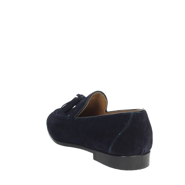 Gino Tagli Shoes Moccasin Blue A103PN