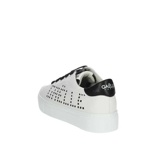 Gaelle Paris Shoes Sneakers White/Black G-192