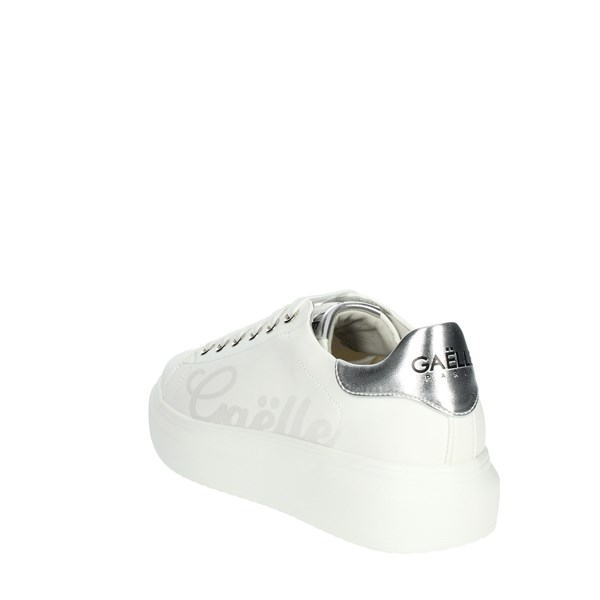 Gaelle Paris Shoes Sneakers White G-201