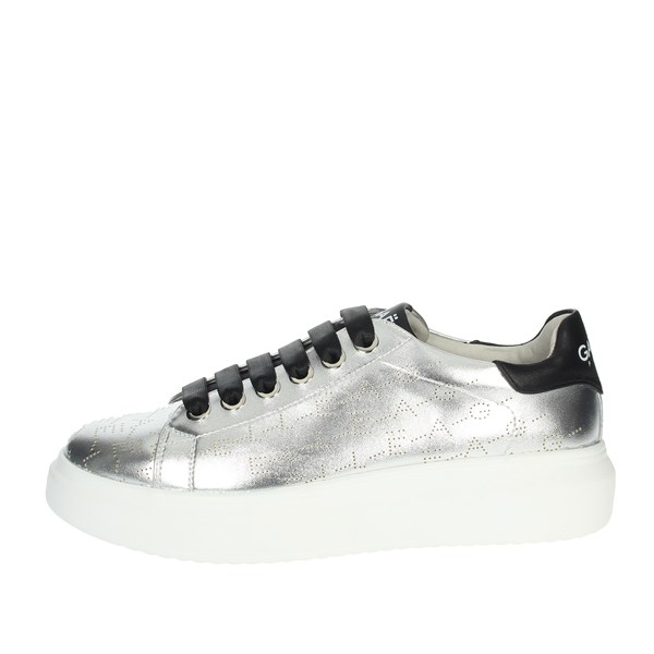 Gaelle Paris Shoes Sneakers Silver G-203