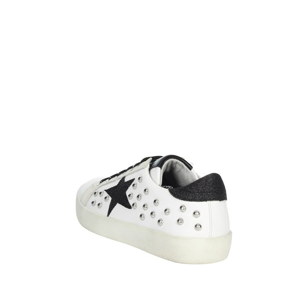 Gaelle Paris Shoes Sneakers White/Black G-142