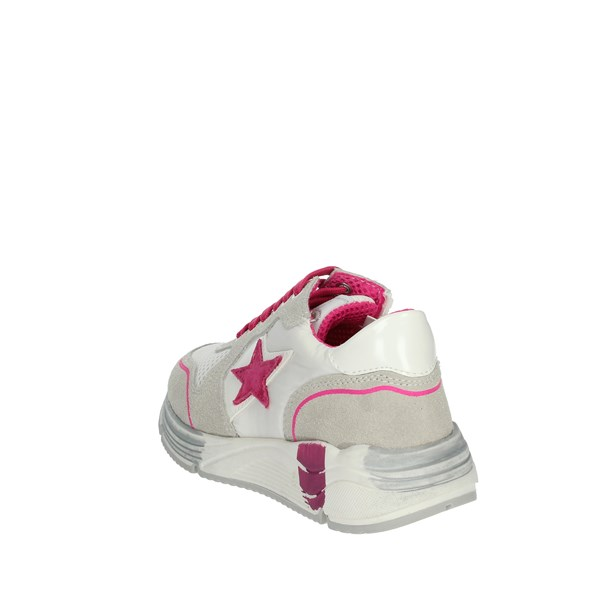 Asso Shoes Sneakers White/Fuchsia AG-5503