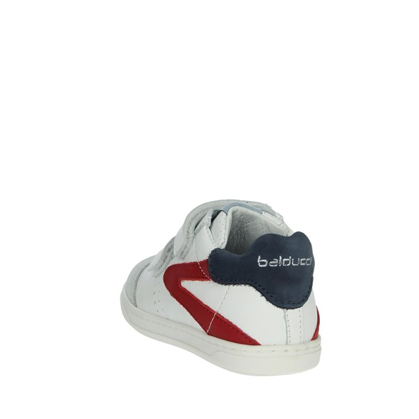 Balducci Shoes Sneakers White/Red MSPORT3352