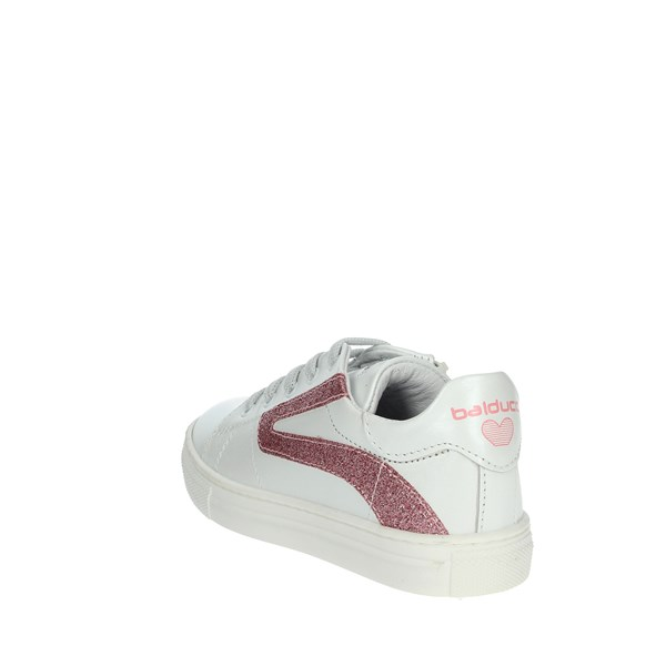 Balducci Shoes Sneakers White/Fuchsia BUTTER1570