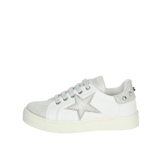 Balducci Shoes Sneakers White/Silver BS1262