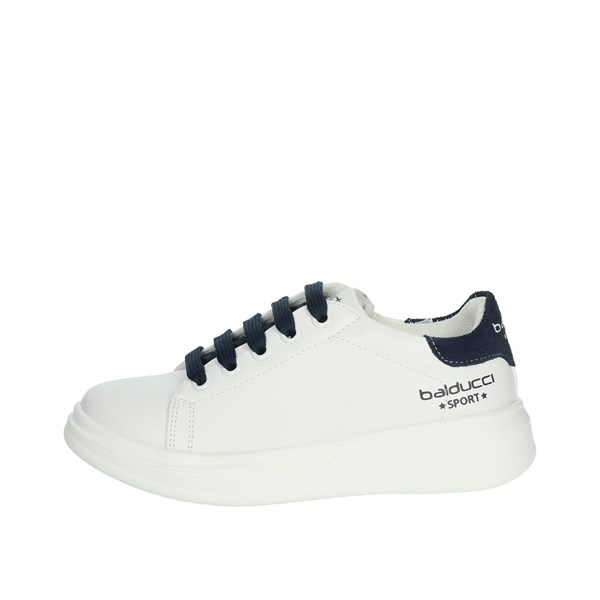 Balducci Shoes Sneakers White/Blue BS1220