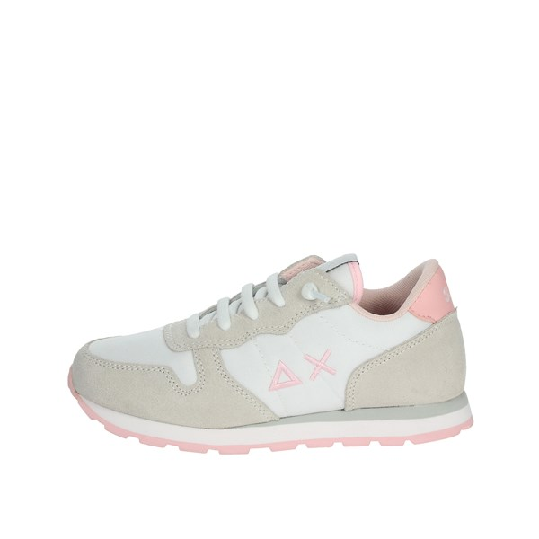 Sun68 Shoes Sneakers White/Pink Z30401