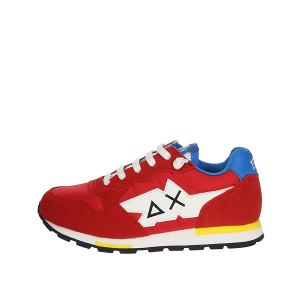 Sun68 Shoes Sneakers Red Z30302