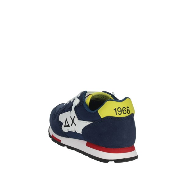 Sun68 Shoes Sneakers Blue/Yellow Z30302
