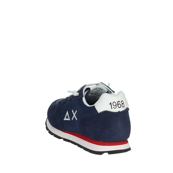 Sun68 Shoes Sneakers Blue/White Z30301