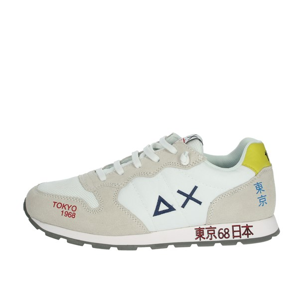 Sun68 Shoes Sneakers White Z30303