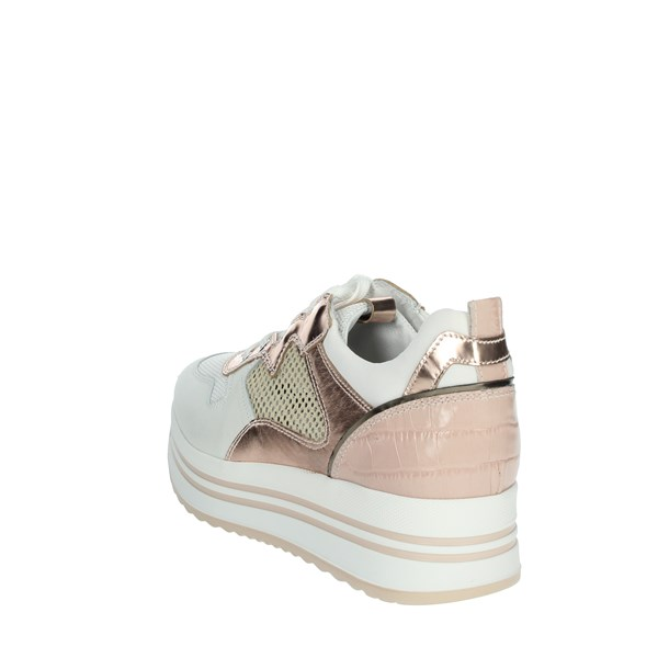 Nero Giardini Shoes Sneakers White/Pink E010567D