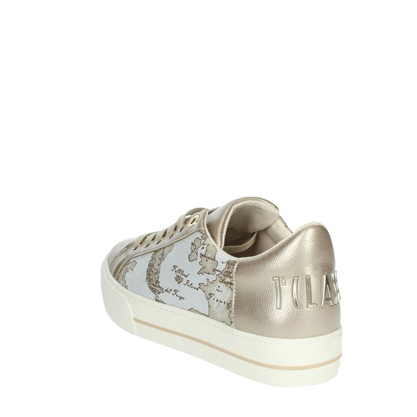 Alviero Martini Shoes Sneakers Platinum  0553-0525