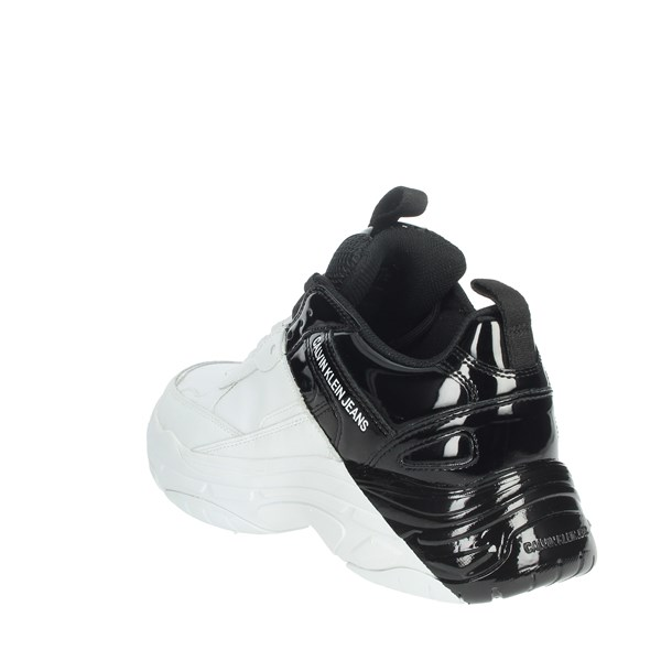Calvin Klein Jeans Shoes Sneakers White/Black B4S0652