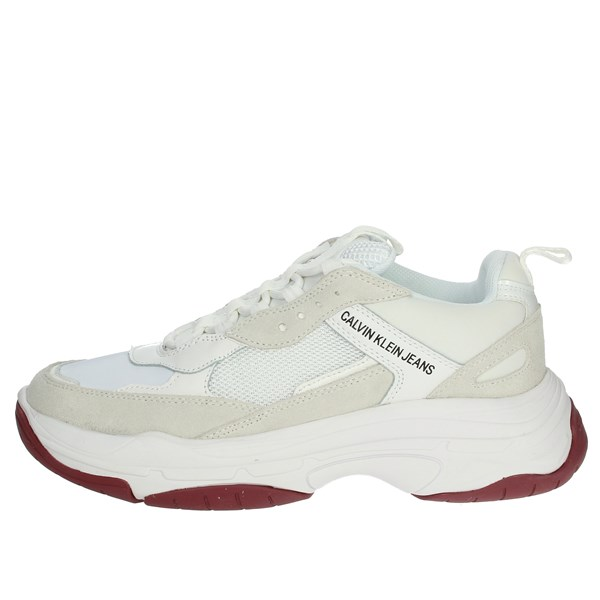 Calvin Klein Jeans Shoes Sneakers White S1770