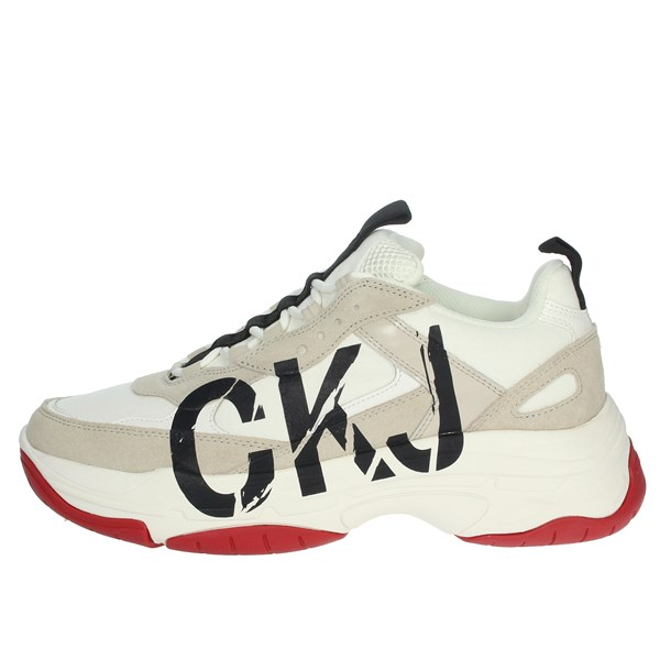 Calvin Klein Jeans Shoes Sneakers White/Black B4S0651