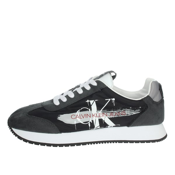 Calvin Klein Jeans Shoes Sneakers Black/White B4S0656