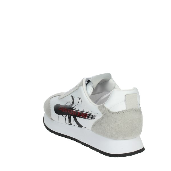 Calvin Klein Jeans Shoes Sneakers White/Black B4S0656