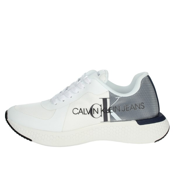 Calvin Klein Jeans Shoes Sneakers White/Blue B4S0649