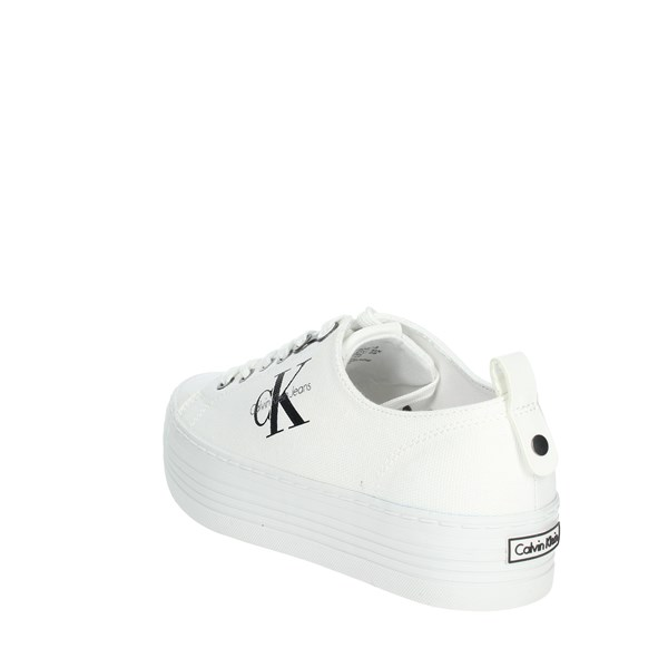 Calvin Klein Jeans Shoes Sneakers White R0673