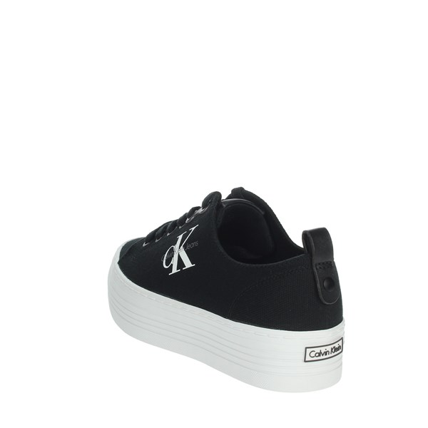 Calvin Klein Jeans Shoes Sneakers Black R0673