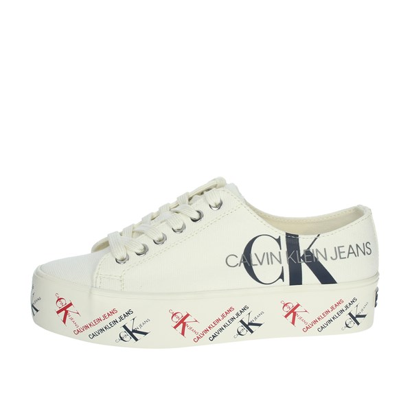 Calvin Klein Jeans Shoes Sneakers Creamy white B4R0885