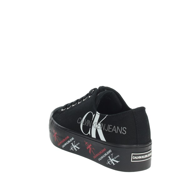Calvin Klein Jeans Shoes Sneakers Black B4R0885