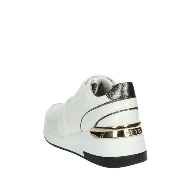 Keys Shoes Sneakers White K-1000