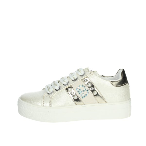 Laura Biagiotti Dolls Shoes Sneakers Ivory 6154