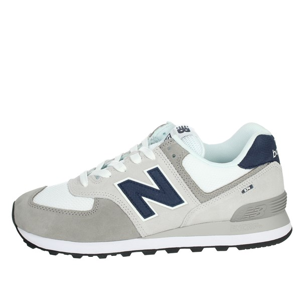 New Balance Shoes Sneakers White/Blue ML574EAG