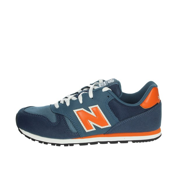 New Balance Shoes Sneakers Blue/Orange YC373KN